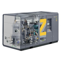 Oil-free screw compressors